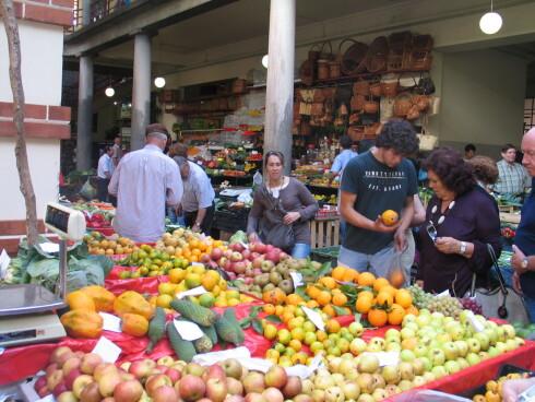 På marked i Portugal. Foto: Harald Bråthen