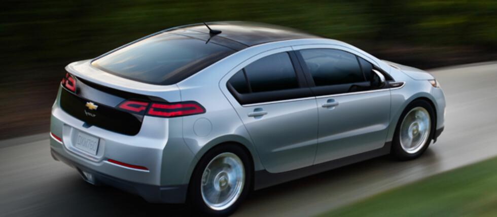 Chevrolet Volt og Opel Ampèra feies midlertidig av banen på det norske markedet.