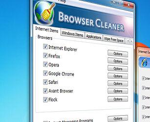 image: Browser Cleaner fjerner alle spor