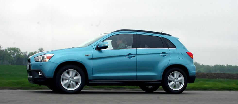 Mitsubishi kommer sterkt med ASX i sortimentet.  Foto: Knut Moberg
