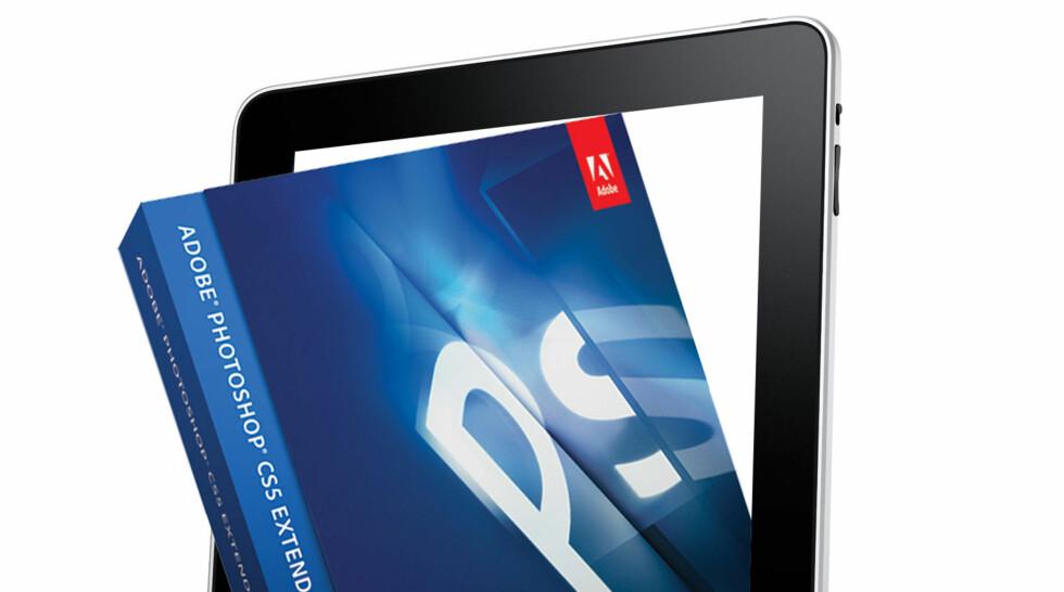 Adobe har laget Photoshop for iPad
