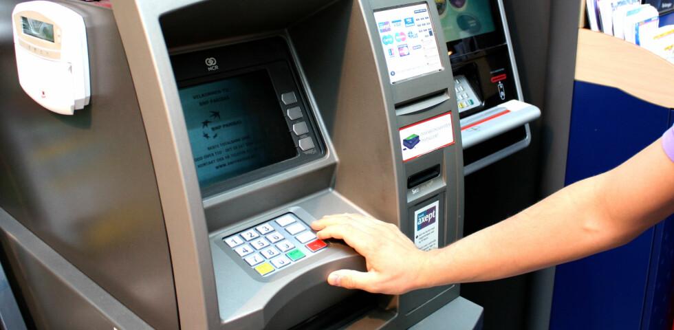 Ferske tall viser at det økonomiske tapet som følge av kortsvindel er på vei ned. Foto: KRISTINA PICARD