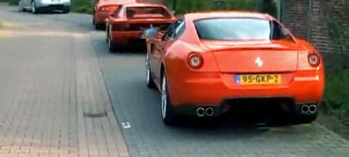 Her har ALLE Ferrari