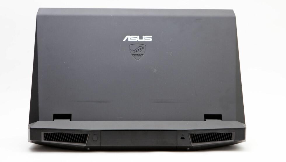 Asus har laget et effektivt luftesystem som sørger for å holde PC-en kjølig, uten at det blir plagsom støy av det. Foto: Per Ervland