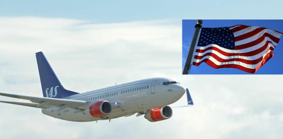 Hurra - nå slipper du å mellomlande. Fra 28. mars kan du fly direkte fra Oslo til New York. Foto: SAS/Colourbox