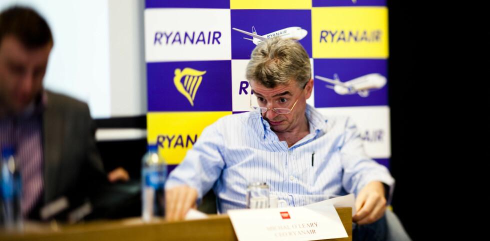 Ryanair foretrekker å få klagene skriftlig tilsendt i posten, på telefonen eller via faks.  Foto: Per Ervland