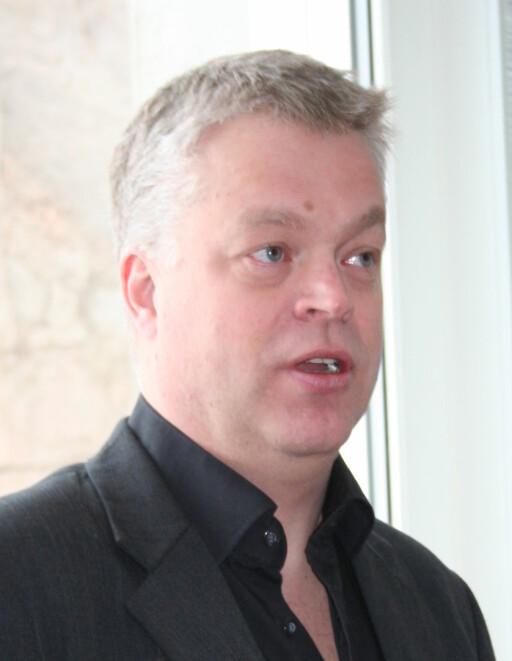 Generaldirektør Geir Endregard i NAAF. Foto: Berit B. Njarga