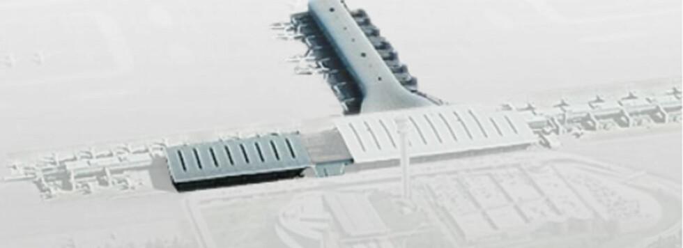 Planen er at terminalen skal være like enkel, oversiktlig, effektiv og arkitektonisk attraktiv som den er i dag. Det vil også bli brukt naturmaterialer og enkle og nøkterne løsninger.  Foto: osl.no