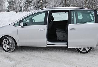 TEST: VW Sharan har plass til alt