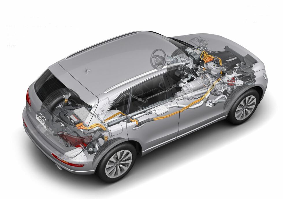 Prøvekjørt: Audi Q5 hybrid