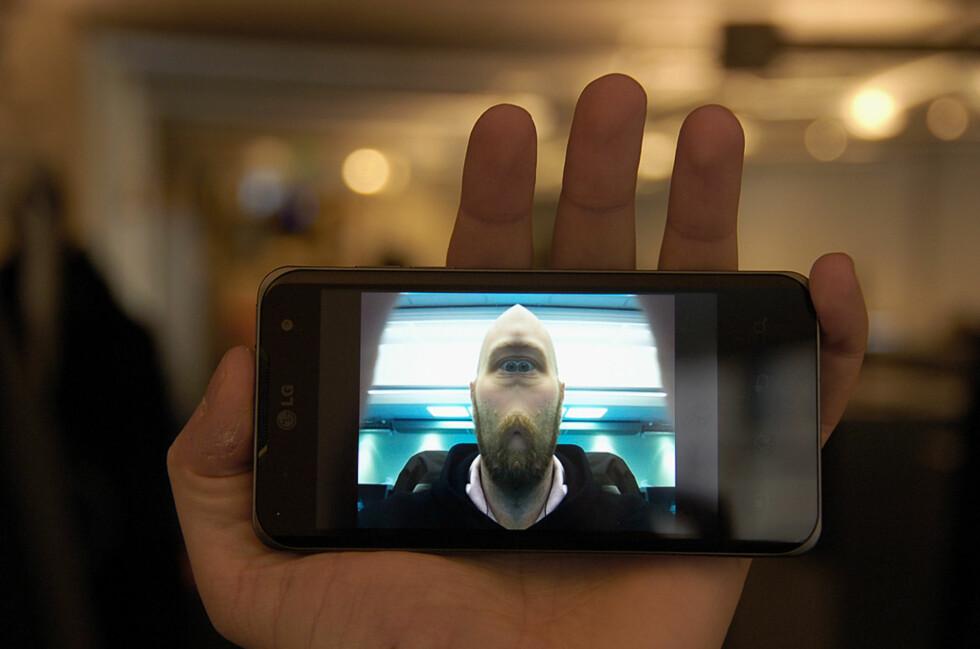 Det finnes mange fotoapplikasjoner som kan gjøre mer enn det innebygde kameraet. Dette bildet er tatt med Camera360 Ultimate. Foto: Pål Joakim Olsen