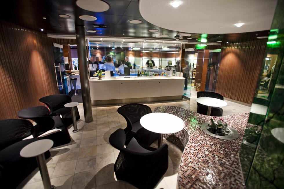 I baren får du kjøpt forfriskninger.  Foto: Per Ervland