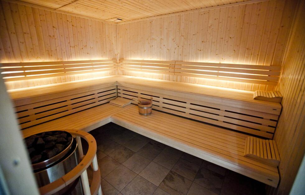 Badstue i skandinavisk design. Foto: Per Ervland