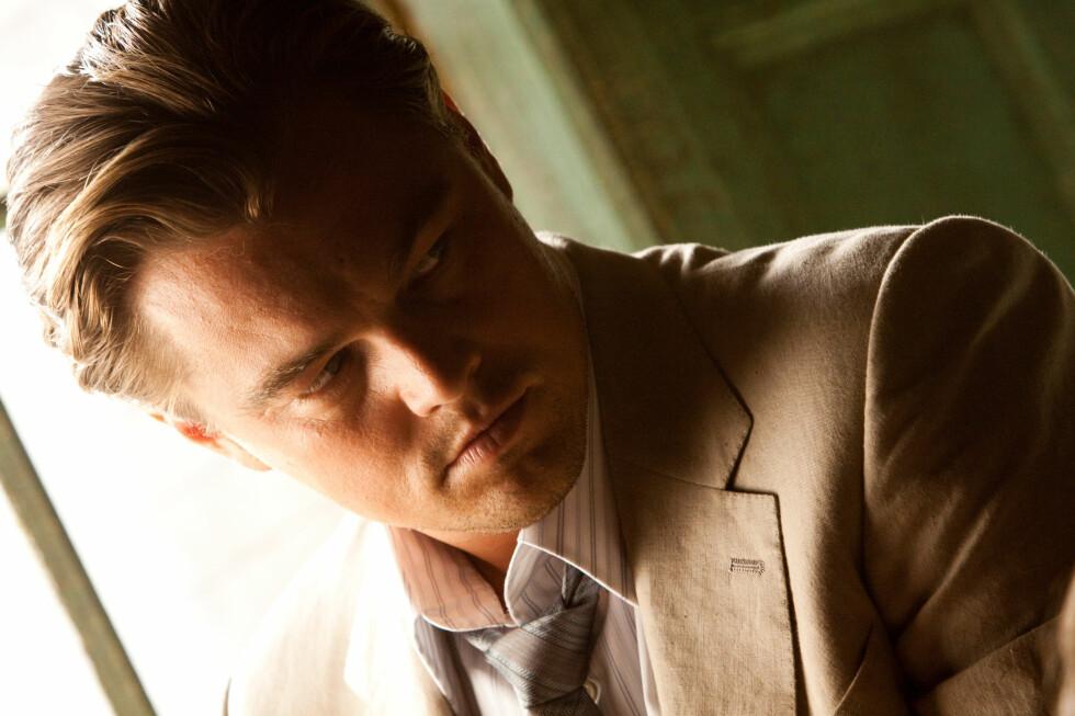Leonardo DiCaprio spiller hovedrollen i Inception. Foto: Warner Bros./Sandrew Metronome