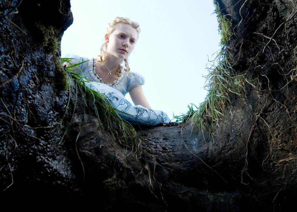 Alice in Wonderland vant ingen priser for innholdet, men for den særdeles pene innpakningen. Foto: Walt Disney Studios Motion Pictures Norway