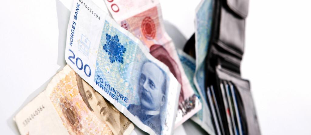 <b>NEI TAKK?</b> Får NHO Reiseliv det som de vil, skal bedrifter kunne nekte kundene å bruke kontanter. Foto: COLOURBOX.COM