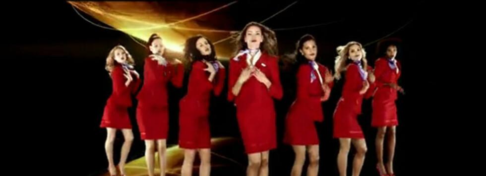 Denne gjengen fra Virgin Atlantic skal gi deg en hyggelig tur i luften. Foto: YouTube