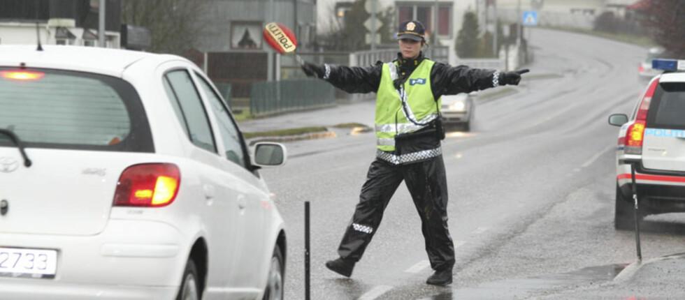 FARLIGE VEISTREKNINGER: Trafikken kan bli kaotisk og krevende i ferien. Disse strekningene prioriteres av UP. Foto: DAG GJÆRUM/UP