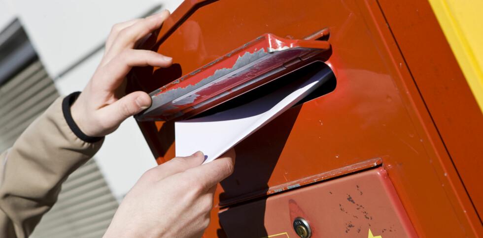 Hvis du får tilsendt regninger på denne måten, bør du heretter være på vakt. Foto: Colourbox.com