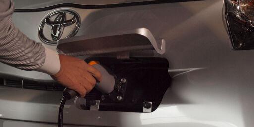 image: Toyota IQ blir elbil