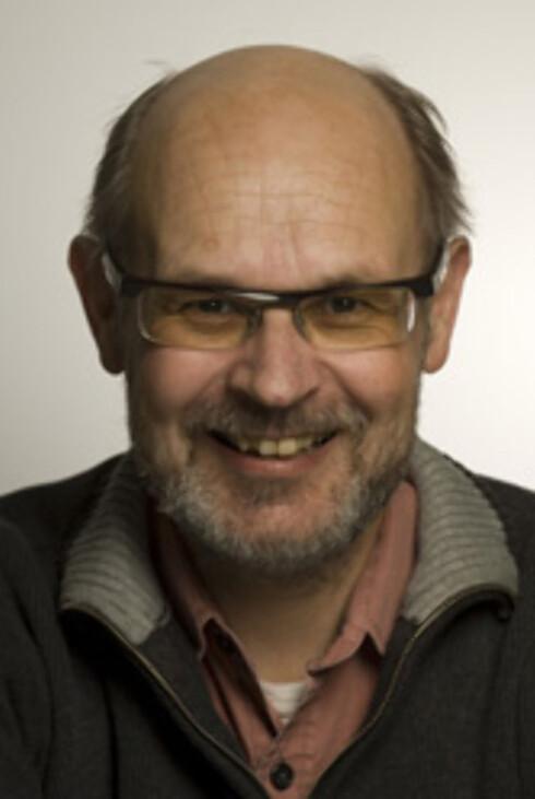 Forskerleder ved transportøkonomisk institutt, Rune Elvik, forsker på trafikksikkerhet.  Foto: Tøi