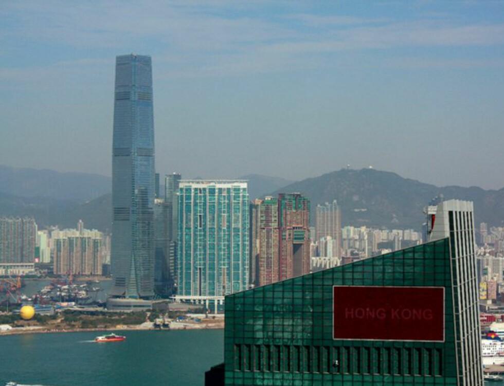 Utsikt over Hong Kong. Foto: Maya Blix