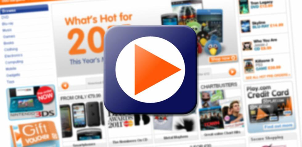 Trodde du den populære nettbutikken Play.com alltid var billigst, tar du feil. Det viser DinSides ferske pristest av film og spill. Foto: Play.com/DinSide