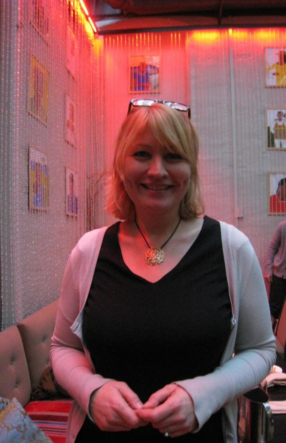 Helen Begby, informasjonssjef i Apollo Foto: Silje Ulveseth