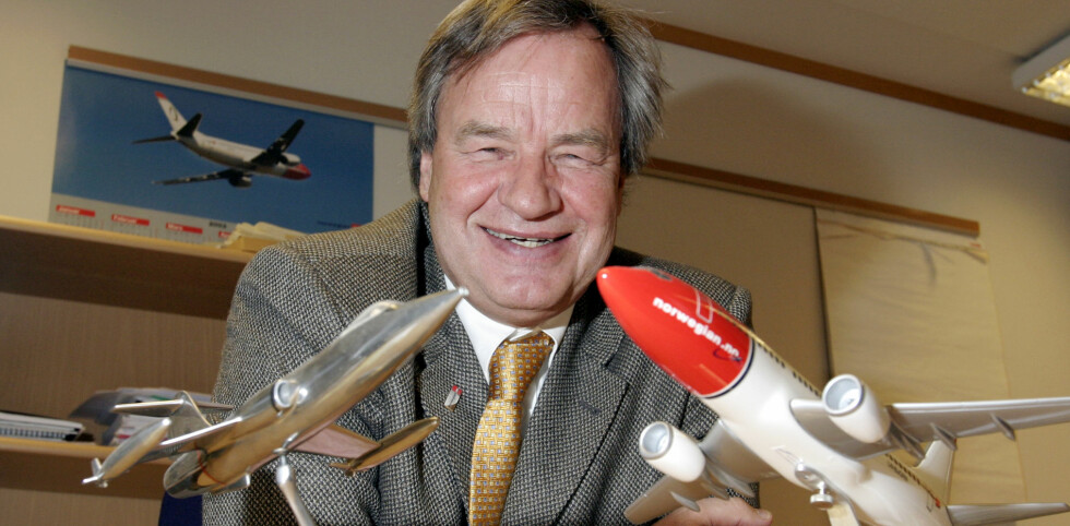 LOVER LAVPRIS: Norwegian flyr billigere med mindre drivstoff og mindre velikeholdsbehov enn SAS, ifølge Bjørn Kjos (arkivfoto). Foto: Per Ervland