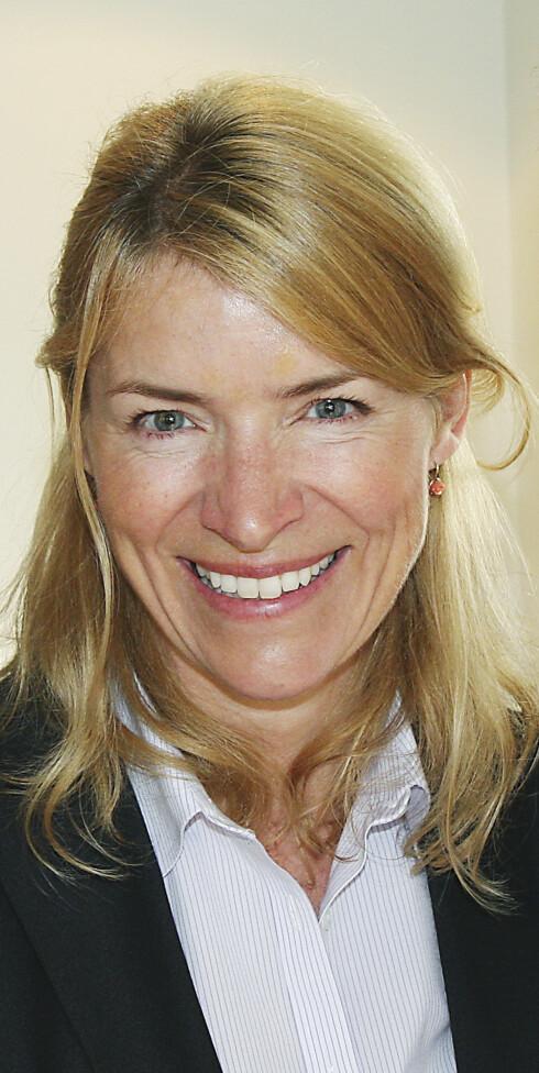 Administrerende direktør Synnøve Bjørke i Stiftelsen Elektronikkbransjen Foto: Elektronikkbransjen