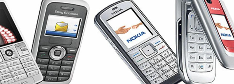Gamle mobiler kan bli til nye, men bare hvis du selv leverer dem til gjenvinning. Foto: Per Ervland