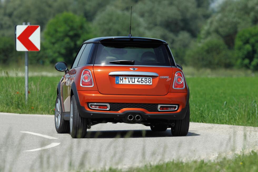Mini Cooper SD blir den raskeste bilen med den nye motoren Foto: Mini