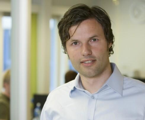 Johnny Anderson, informasjonssjef i Skandiabanken Foto: Skandiabanken