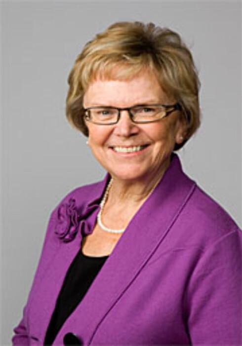 Samferdselsminister Magnhild Meltveit Kleppa er positiv til strekning-ATK og vil ha flere. Foto: Scanpix/Statsministerens kontor.