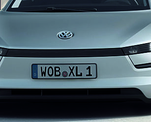 image: Volkswagen XL1 - under desiliteren per mil