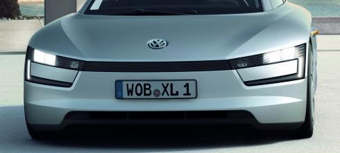 Volkswagen XL1 - under desiliteren per mil