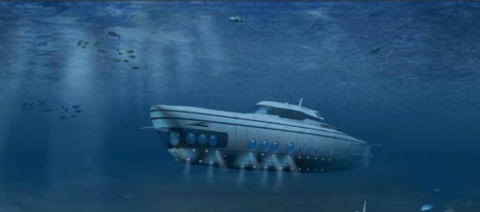Luksus under vann