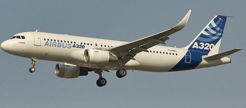 <strong>A320</strong> er verdens mest solgte flytype for tiden. Foto: Airbus