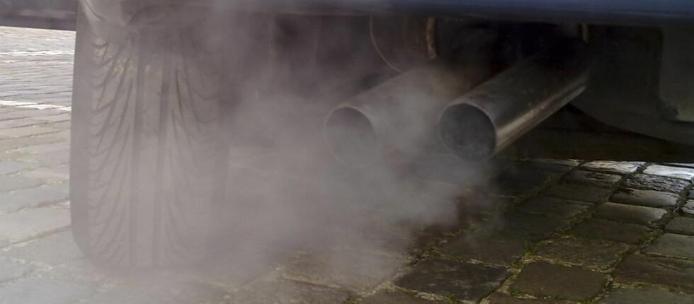 På kalde dager kan luftforurensningen være direkte helseskadelig i de store byene. Foto: Ruben de Rijcke