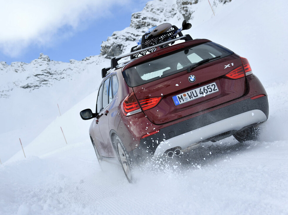 The new BMW X1 xDrive28i (01/2011) Foto: BMW