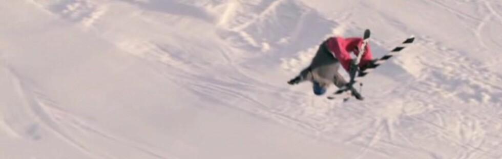 Du får frysninger av hoppene PC Fosse gjør i skifilmen Side by Side. Sjekk ut mer om filmen her. Foto: Field Productions
