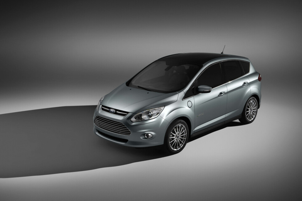 C-Max Hybrid har fått en enorm skyggeside.  Foto: Ford