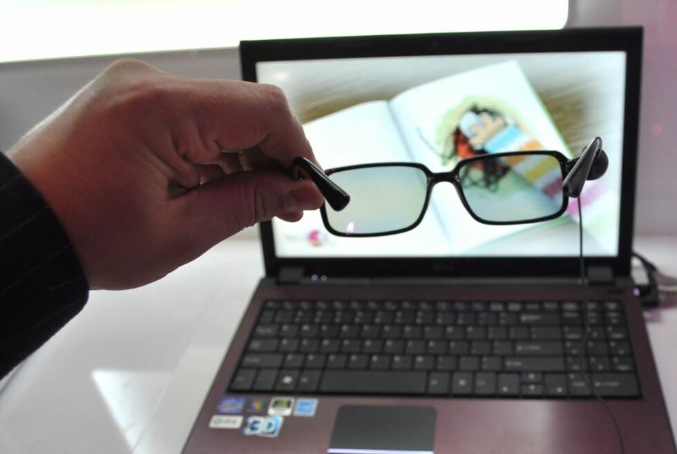 Interessen for PC-er med 3D-skjerm er økende. 25% av de spurte i en undersøkelse sier at de kan tenke seg en modell med slik støtte neste gang de skal handle PC. Foto: Bjørn Eirik Loftås