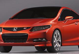 Ny Honda Civic på vei