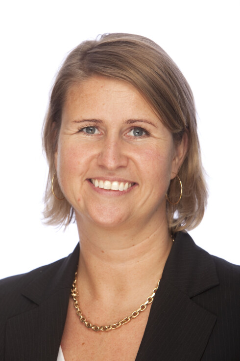 - Like sikkert med MasterCard, mener Hilde Fredheim-Høgberg i SEB Kort. Foto: Eurocard