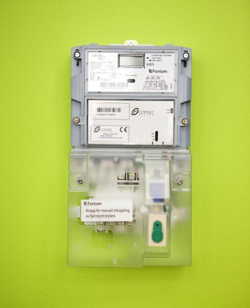 Har du en timesmåler, kan du enkelt påvirke strømregningen ved å bruke strøm på den tiden av døgnet den koster minst. Denne er fra Fortum. Foto: Fortum