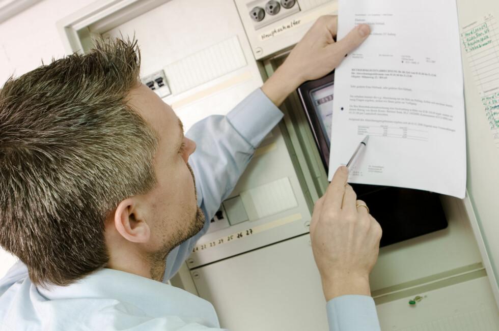 Det er hyppigheten mellom avlesninger av strømmåleren som er med på å styre hva du betaler. Foto: Colourbox.com