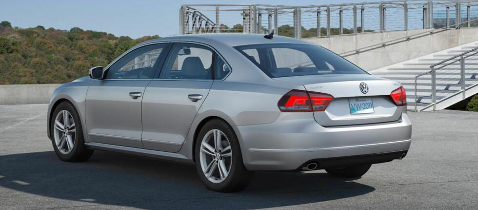 VW Passat på amerikansk