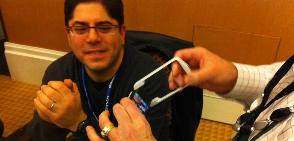 "image: Casio lanserer ""Tryx"" - helt spesielt kamera"
