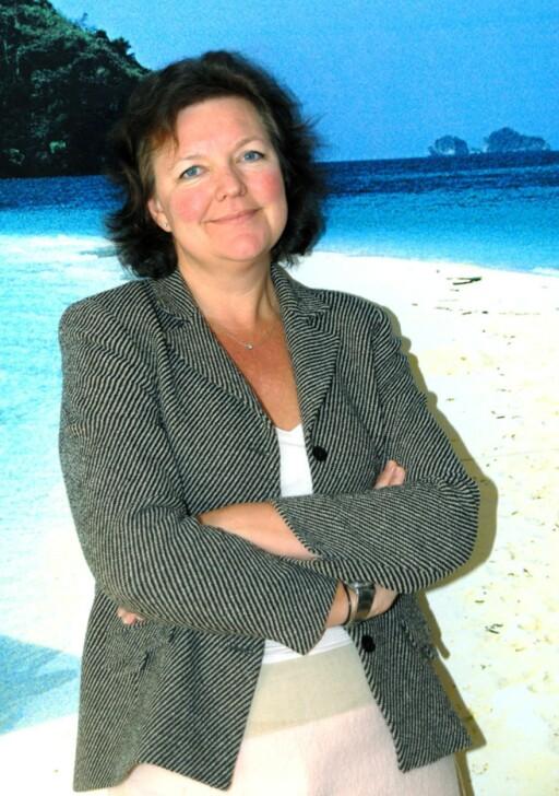 Lena S. Petersson, kommunikasjonsdirektør i Star Tour, merker at salget har økt i år sammenlignet med tallene i fjor.  Foto: Star Tour